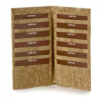 Cork Bi-Fold Document Wallet